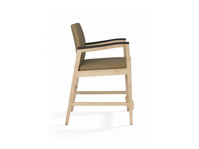Nemschoff Easy Access Patient Chair side view