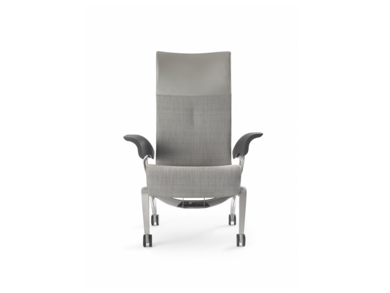 Nala Patient Chair, front view.