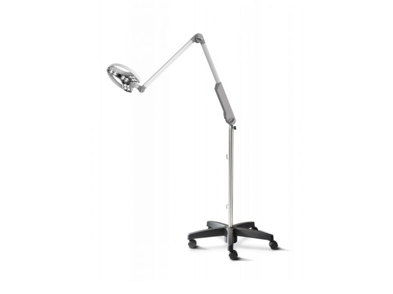 Derungs Visiano 20-2 Examination Light - on a mobile roll stand