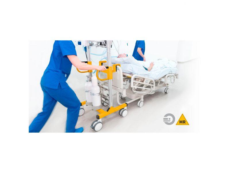 MobiDoc MRI patient bed transport.