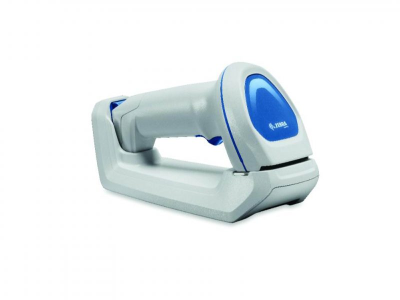 Zebra DS8100 healthcare scanner.