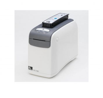 Zebra HC 100 wristband printer.