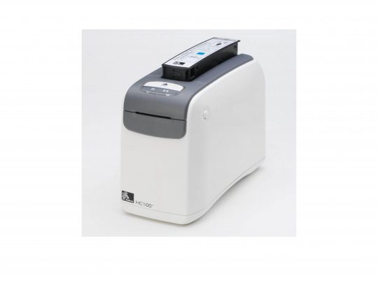Zebra HC 100 wristband printer.