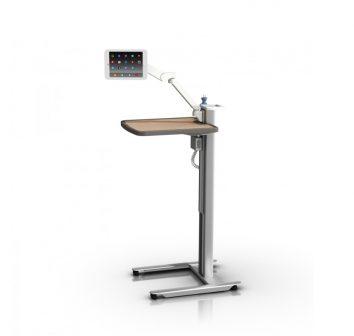 Patient engagement table, compact.