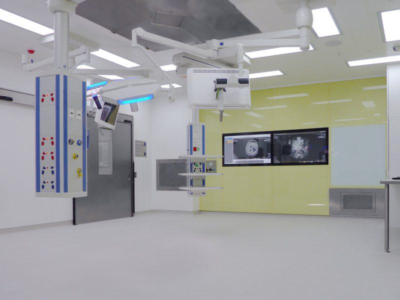 Modular construction, operating theatre.