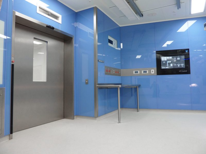 Operating Theatre modular construction.