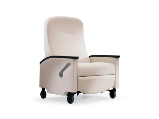 Nemschoff Pristo Plus Recliner, Bariatric, high level of comfort, style, and functionality.