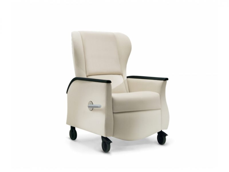 Nemschoff Serenity Recliner, chair back and footrest move independently