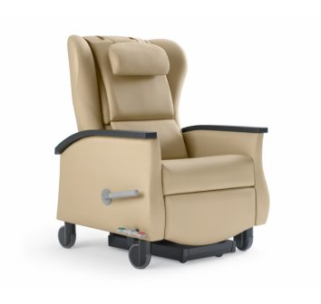 Serenity Recliner, Hospital, Aged Care, Dementia Friendly, Independent footrest