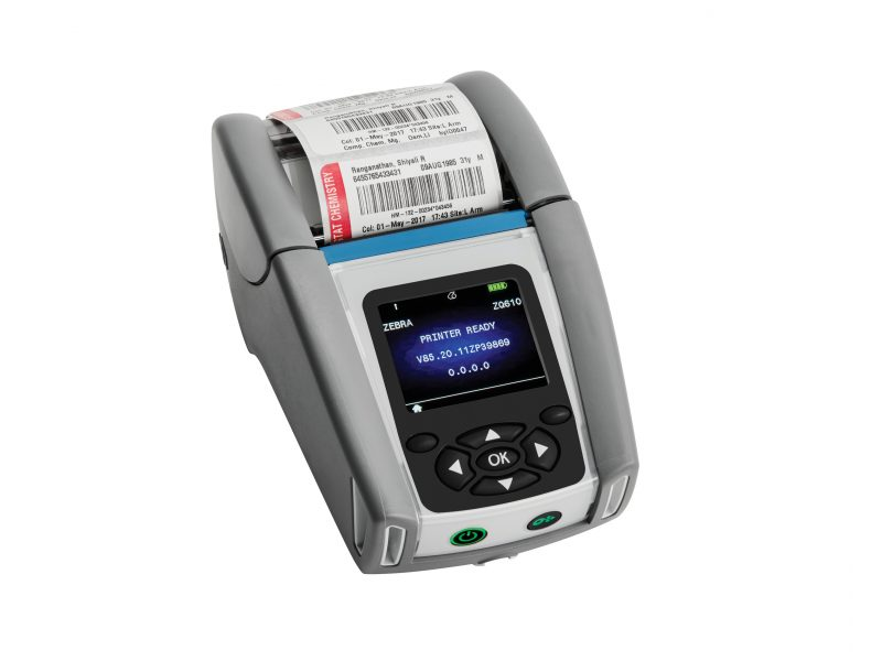 Zebra ZQ610 healthcare printer