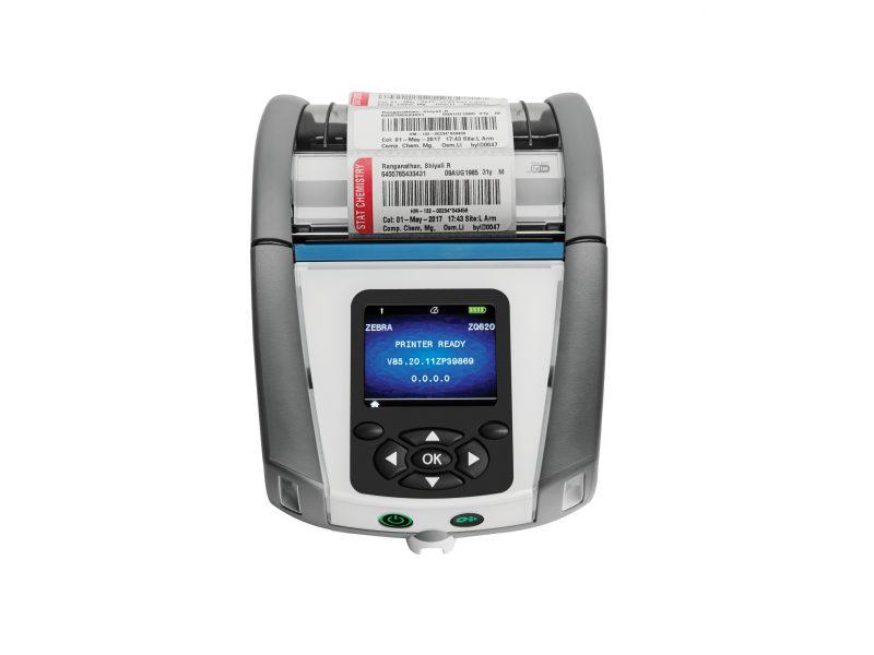 Zebra ZQ620 healthcare printer front