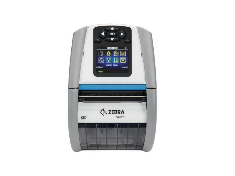 Zebra ZQ620 healthcare printer front view