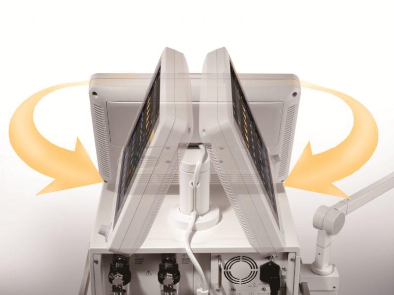 Mindray E5 Ventilator rotational view