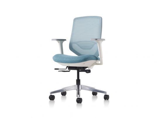 Herman Miller Express 2 Task Chair with Arms, Suspension Mesh Back Rest, Herman Miller Adjustable Lumbar, Tilt Lock,. This Office Chair features an adjustable seat height. Herman Miller Express 2 Task Chairs feature adjustable seat depth and 12 Year Herman Miller Warranty