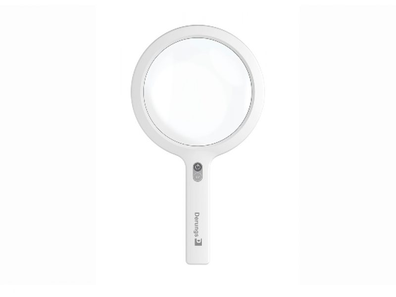 Derungs Opticlux Handheld Portable Medical Magnifying Examination Light for Dermatologists
