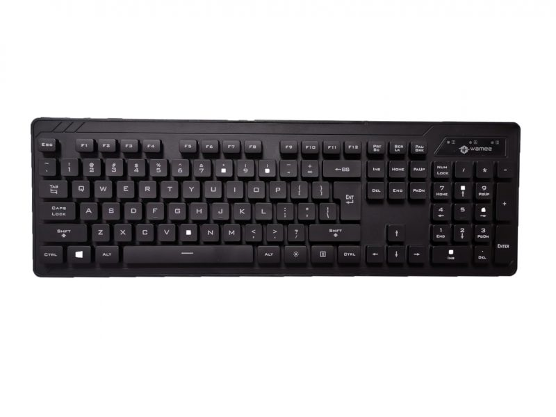 Wamee black keyboard rated IP68