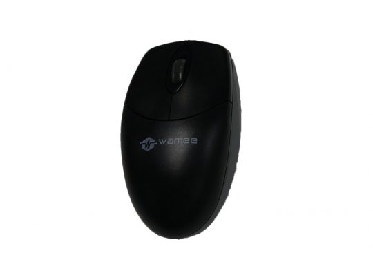 Wamee black mouse with 3 key technology