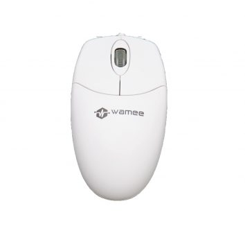 Wamee white mouse with 3 key technology