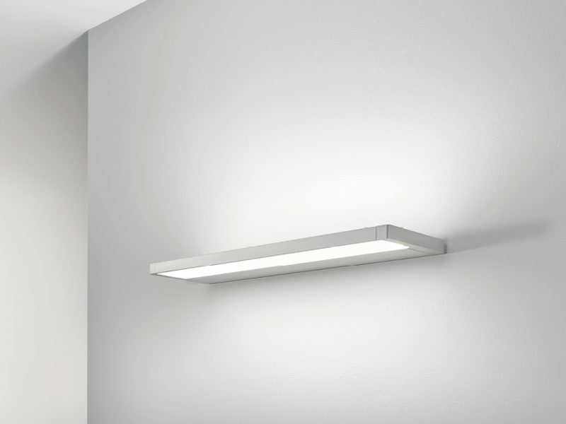 Derungs Zera Bath light wall mounted in an aged care or hospital corridor or common area