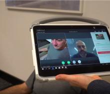 313MD Medical Grade Tablet on Rollstand