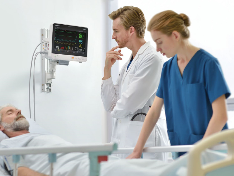 ePM 12 compact patient monitor flexible mounting solutions