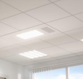 UV Angel unobtrusive in ceiling
