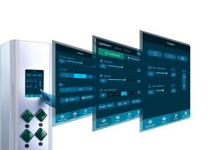 HyPort Central touch screen control system